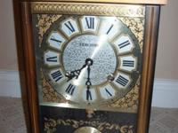 CLASSIC PENCHIME 31 DAY MANTEL SHELF OR WALL CLOCK
