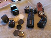 I have a Vintage Pentax Asahi KX 35MM w/Flash, there is