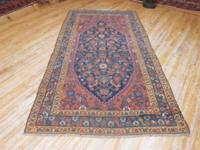 # 54853 4' 1 x 7' 10 pure wool hand knotted in Iran