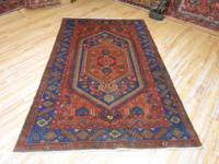 # 54826 4' 1 x 6' 7 pure wool hand knotted in Iran