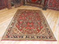 # 54851 4' 4 x 6' 8 pure wool hand knotted in Iran