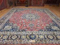 # 53630 10' 0 x 11' 6 pure wool hand knotted in Iran