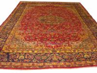 # 3542 9' 7 x 11' 11 pure wool hand knotted in Iran