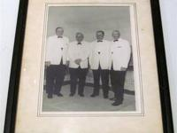 Vintage Photo of 4 Men - Year unknown a Looks to be