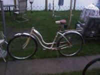 Rare Pink or Salmon Color Girls bike missing handle