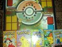 Pokeman card board VHS tape 2 Magazines 2 cards book