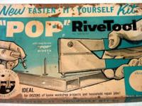 Pop RiveTool Kit No.103 from 1964 by United Shoe