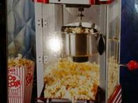 NOSTALGIA ELECTRICS 50'S STYLE POPCORN MAKER, THIS ITEM