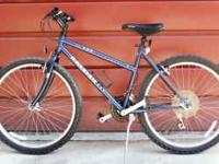 21-speed vintage Raleigh MT200 mountain bicycle for