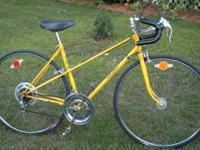 Excellent mechanical condition 10 Speed. Rough paint