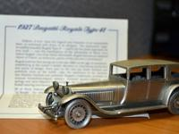 Beautiful, pewter classic car models Retired rare