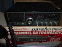 Vintage Realistic (Radio Shack) NAVAHO TRC-458 AM/SSB