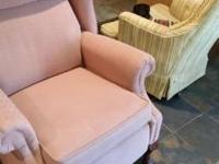 I am selling a very nice old recliner. $150.00 call