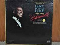 NAT KING COLE - Unforgetable Box Set 6 LP set Orignal