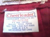 This is a vintage Cheerleader (c) cheerleader skirt,