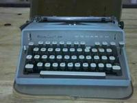 Vintage Remington Monarch portable typewriter - $50 +