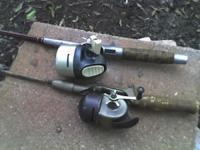 early 60's Pflueger, Jupiter rod and reel......60's