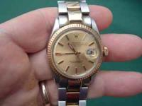 Vintage and clean 1970 Rolex Datejust two tone keeping
