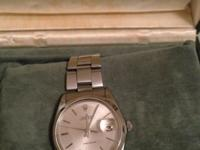 Rolex watch in great condition1960s model 6694 with