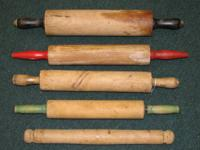 Franklins Antiques. These rolling pins are located at