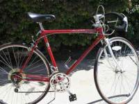 THIS IS A SWEET BIKE! IT IS ABOUT 25 YEARS OLD BUT