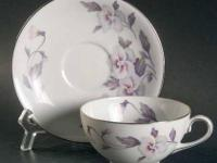 Vintage Rossetti Silver Dawn China Service for 8 lilac