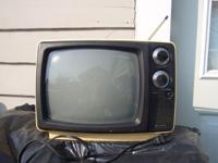 This Sanyo portable TV model no. 21T68A was