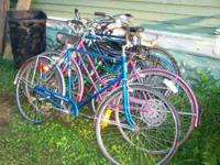 I have about 10 vintage 1960's-70's Schwinn single,3,5