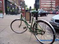 Vintage Green 3 speed Schwinn $100 OBO Please call or