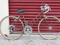 HERE IS A VERY COOL OLD VINTAGE SCHWINN CONTINENTAL--