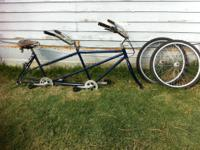 vintage schwinn tandem 2 seat bicycle for sale for