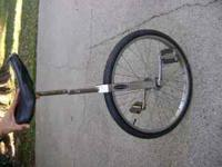 I'm selling my vintage, Schwinn unicycle. It's in