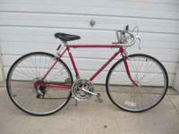 I have a vintage Schwinn Varsity 10 speed bike. It has