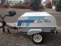 Restored trailer in excellent condition. New tires,