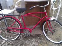 We have a Vintage Sears Bicycle Bike. It is in good
