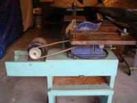 For sale I have a vintage Sears Table Saw. Model #