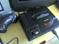 Vintage Sega Genesis video game console Works great,