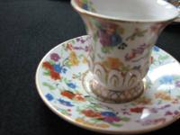 Vintage Tea Cup set, Occupied Japan, Demitase, Cup and