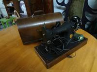 vintage vocalist sewing equipment- in a quite good
