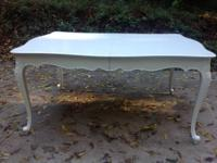 This is a beautiful shabby chic dining table. Dating