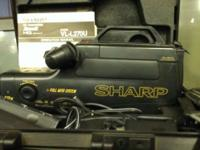 *Retro* *Vintage* Sharp VHS Camcorder Zoom 12 HZM,