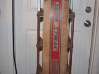 Vintage Silver Streak sled. Very good condition .