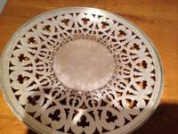 Various silver plate items for sale. Can be seen at