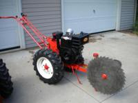 For sale, Simplicity garden tractor buzz saw rig. Comes