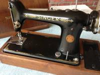 "Singer model 101 in ""as found"" condition. Bought for my"