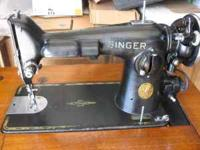 This sewing machine (so I have read) is industrial