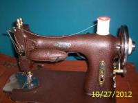 vintage singer sewing machine used but in working