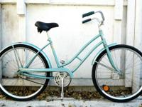 1970s classic single speed cruiser.  Women's step with