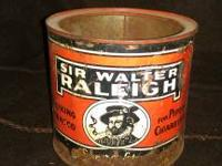 I am selling this Vintage Sir Walter Raleigh Tobacco