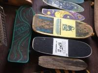 I have a bunch of vintage skateboards I actually need